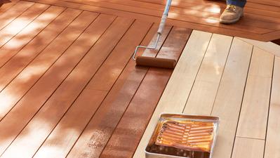 Couleurs de teinture pour le bois pour les terrasses en cèdre