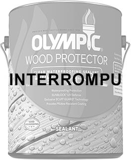 Scellant hydrofuge protecteur pour bois clair